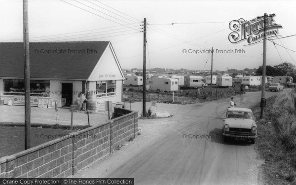 Photo of Selsey, Mill Lane and the Quality Stores Shop c1965