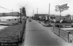Selsey, Mill Lane And The Windmill c.1965