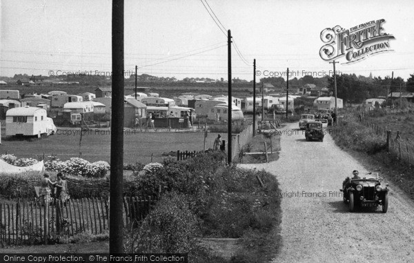 Photo of Selsey, Mill Lane c.1955