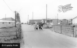 Selsey, Mill Lane Looking Towards The Windmill c.1965