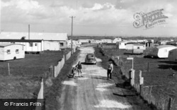 Selsey, Road To Mill Beach c.1960