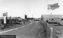 Selsey, Road To Mill Lane c.1960