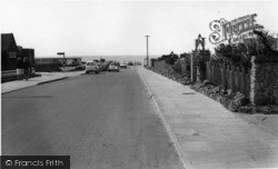 Selsey, Road To The Beach c.1965