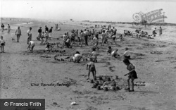Selsey, Sandcastles On The Sands c.1955