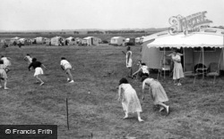 Selsey, Sports At Caravan Park, Mill Lane c.1955