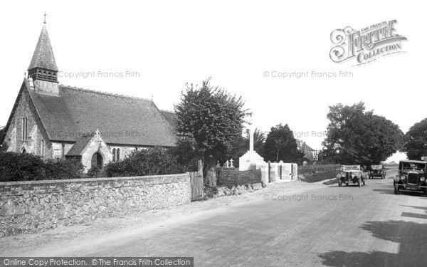 Photo of Selsey, St Peter's Church 1930