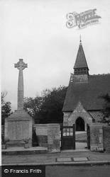 Selsey, St Peter's Church And War Memorial c.1950