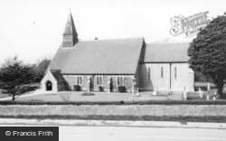 Selsey, St Peter's Church c.1960