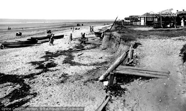 Photo of Selsey, The Beach 1930