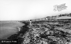 Selsey, The Beach c.1965