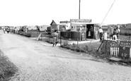 Selsey, the Caravan Shop c1960
