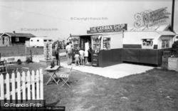 Selsey, The Caravan Shop c.1960