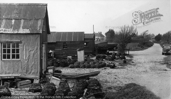 Photo of Selsey, The Lobster Pots c.1955