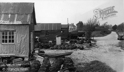 Selsey, The Lobster Pots c.1955