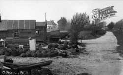 Selsey, The Lobster Pots c.1960