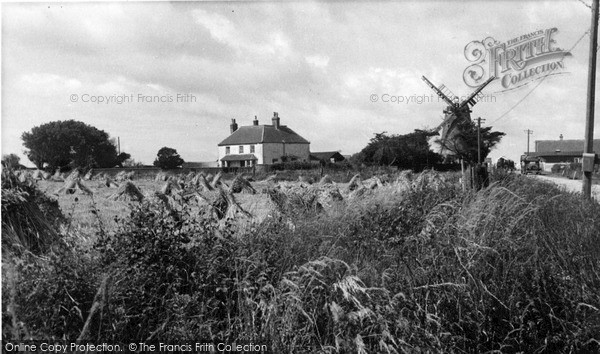 Photo of Selsey, The Old Mill c.1950