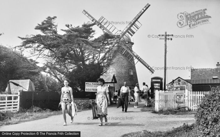 Photo of Selsey, The Old Mill c.1955