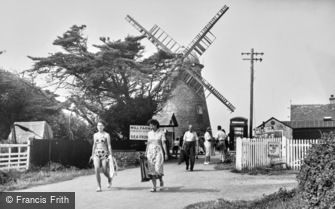 Selsey, the Old Mill c1955