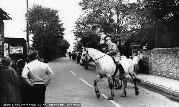 Photo of Selsey, the Riding School c1965