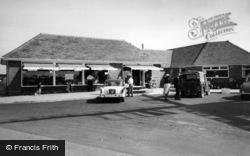 Selsey, The Shop, West Sands Caravan Park c.1960