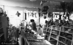 Selsey, The Shop, White Horse Caravan Park c.1960