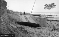 Selsey, The Slipway, West Beach c.1960