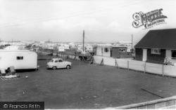 Selsey, The Windmill Caravan Park c.1965