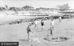 Selsey, West Beach c.1955