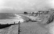 Selsey, West Beach c1960