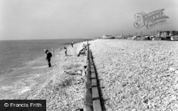 Selsey, West Beach c.1965