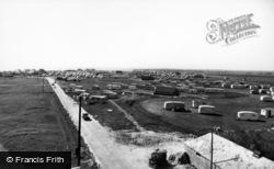 Selsey, West Sands Caravan Park c.1960