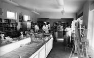 Selsey, West Sands Caravan Park, the Shop c1965