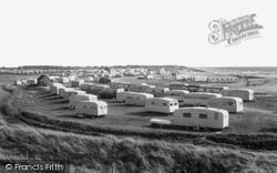 Selsey, West Sands Caravan Site c.1960