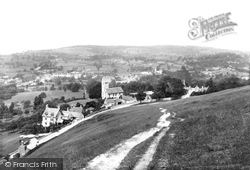 Selsley, The View From The Hill 1910