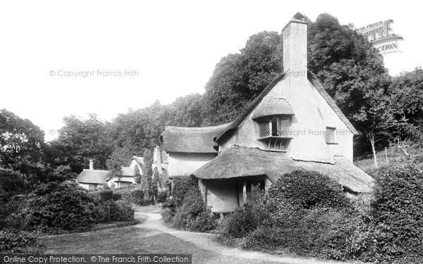 Selworthy, Almshouses 1900