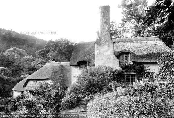 Photo of Selworthy, Almshouses 1900, ref. 45701