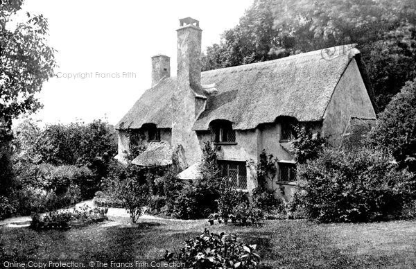 Photo of Selworthy, Dame's Cottage c1871, ref. 5994