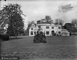 Send, Broughton Hall 1929