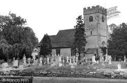 Send, St Mary The Virgin Church c.1960