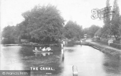 Send, The Canal 1909