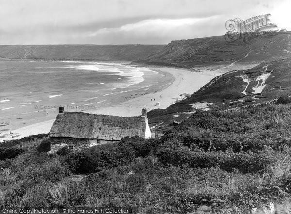 Sennen Cove, the Chapel  Lydney 1927