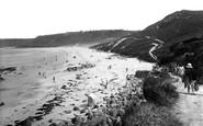 Sennen Cove, pathway to Whitesand Bay 1931