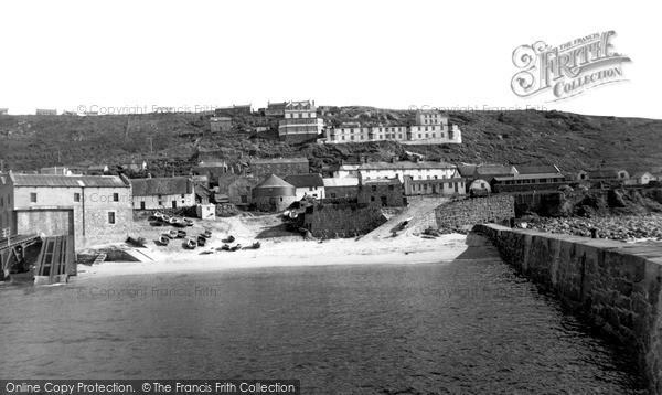 Sennen Cove, the Harbour c1960