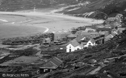 Sennen Cove, Village And Round House 1936
