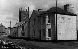 Sennen, First And Last Inn In England c.1955