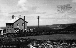 Sennen, Post Office And North Coast c.1955