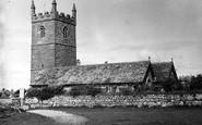Sennen, the Church c1955