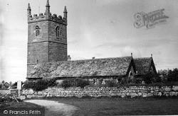 Sennen, St Sennen Parish Church c.1955