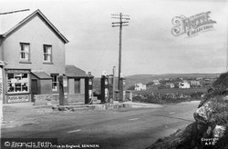 Sennen, The Last Post Office In England c.1955