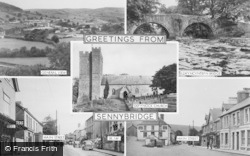 Sennybridge, Composite c.1955
